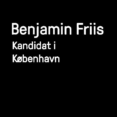 Benjamin Friis Kandidat i København
