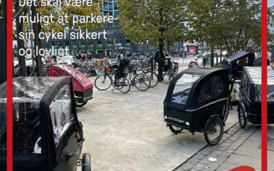 HVORDAN ER DET DE LADCYKLER PARKERER!!!!